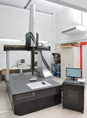 Machine à mesurer tridimensionnelle ABERLINK Azimuth 1215 1000.