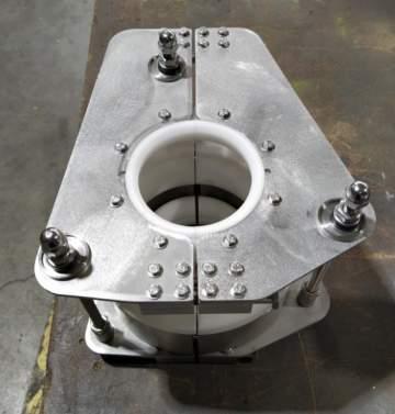 Fabrication, montage et contrôle d'un outillage de blocage de rotules pour l'industrie aéronautique.