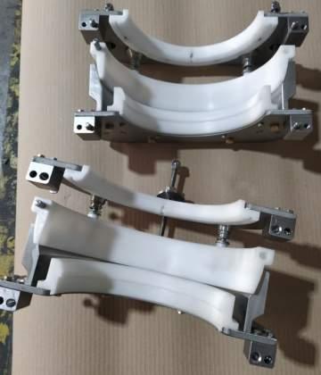 Fabrication, montage et contrôle d'un outillage de compression de soufflet dans le domaine du spatial.
