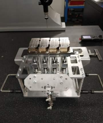 Fabrication, montage et contrôle d'un outillage de collage pour un ilot robotisé.
